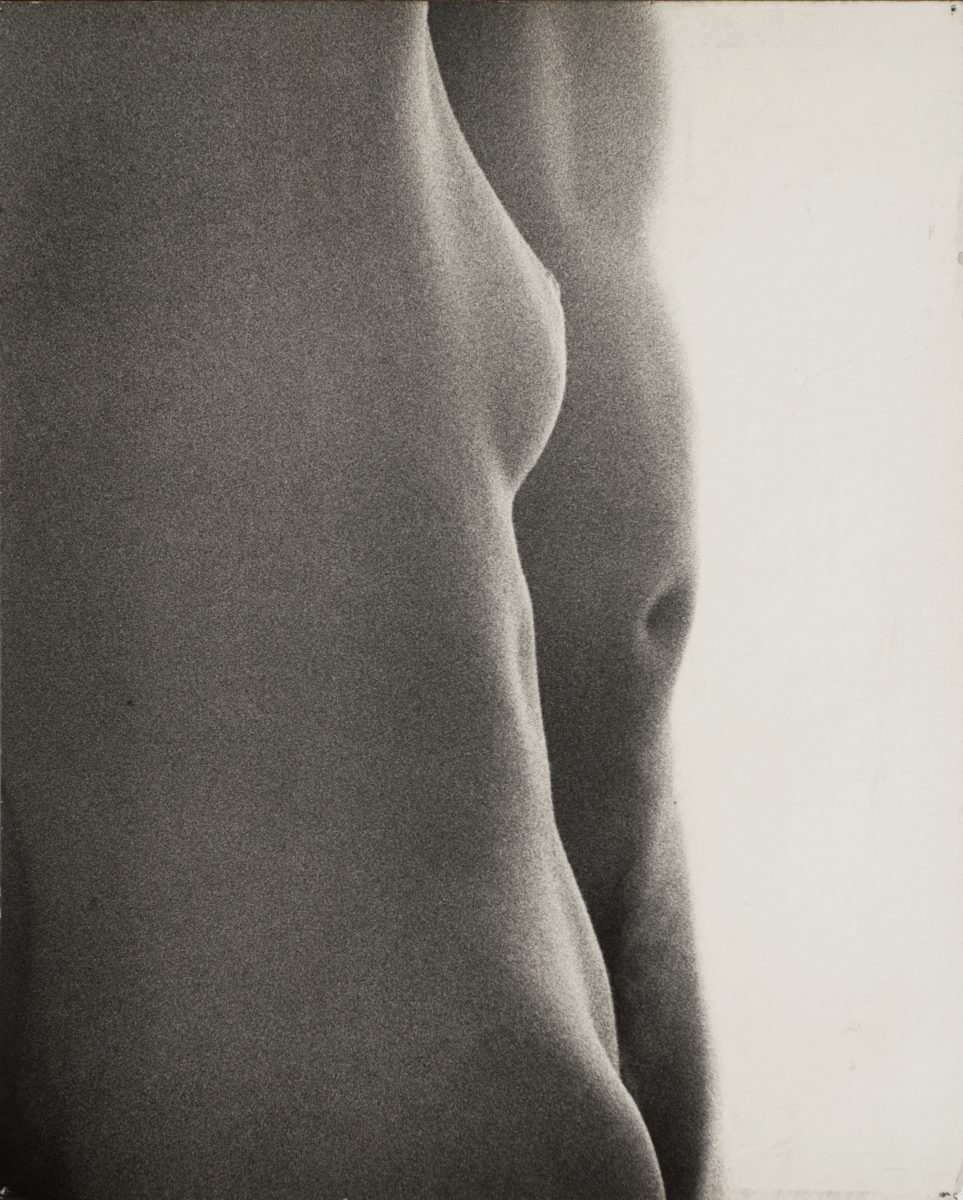 2. Natalia LL, Intimate Photography, 1971, 60 on 50 cm, original vintage print on board, courtesy lokal_30, Warsaw