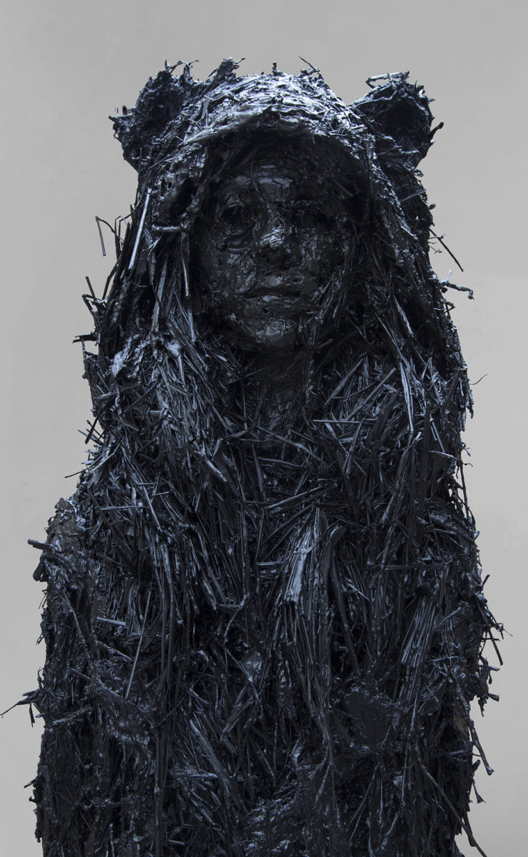 Nicola Hicks, Dressed for the Woods II, 2013, Plaster and mixed media, (c) Nicola Hicks, Courtesy of Flowers Gallery London and New York