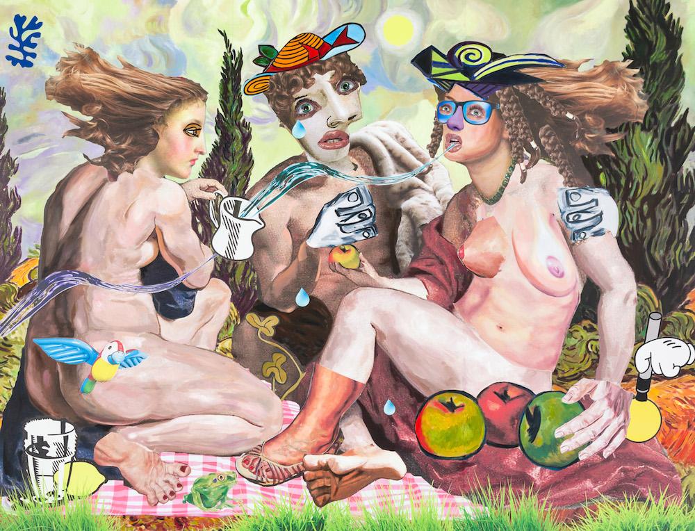 Allison Zuckerman, In the Earthly Garden, 2017 with Kravets Wehby Gallery