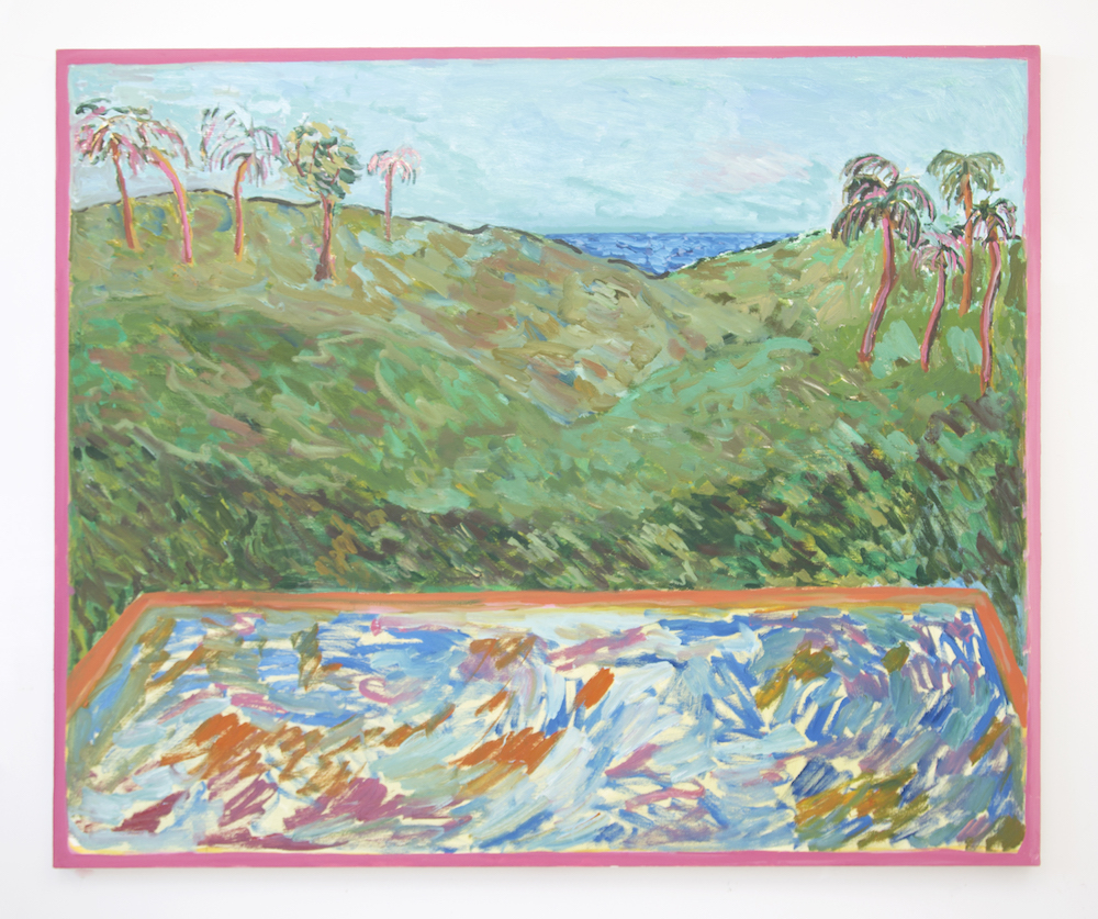 Jessie Edelman, California dream, 2017 with Denny Gallery