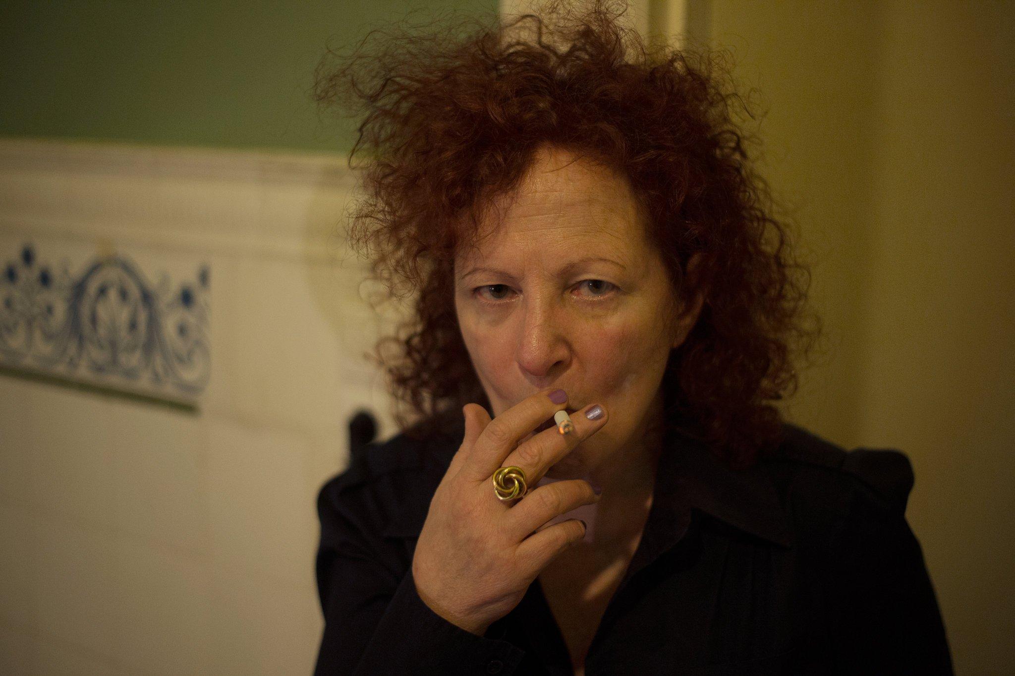 Self-Portrait 1st Time on Oxy, Berlin, 2014. © Nan Goldin, via Artforum
