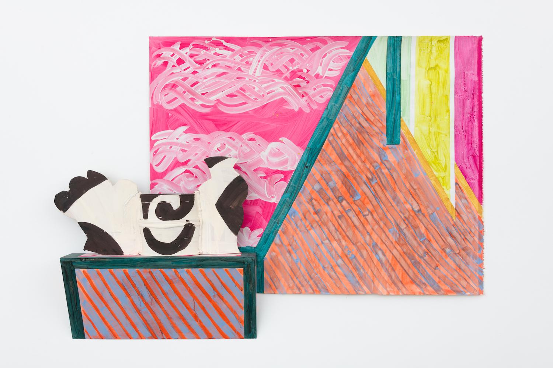 Betty Woodman, Paris Table, 2015