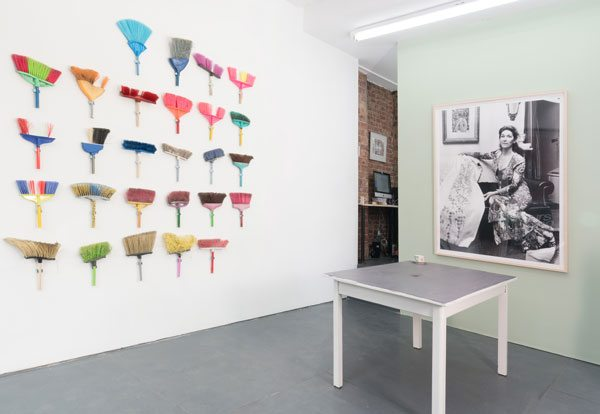 Installation view courtesy of the artist and yours mine & ours