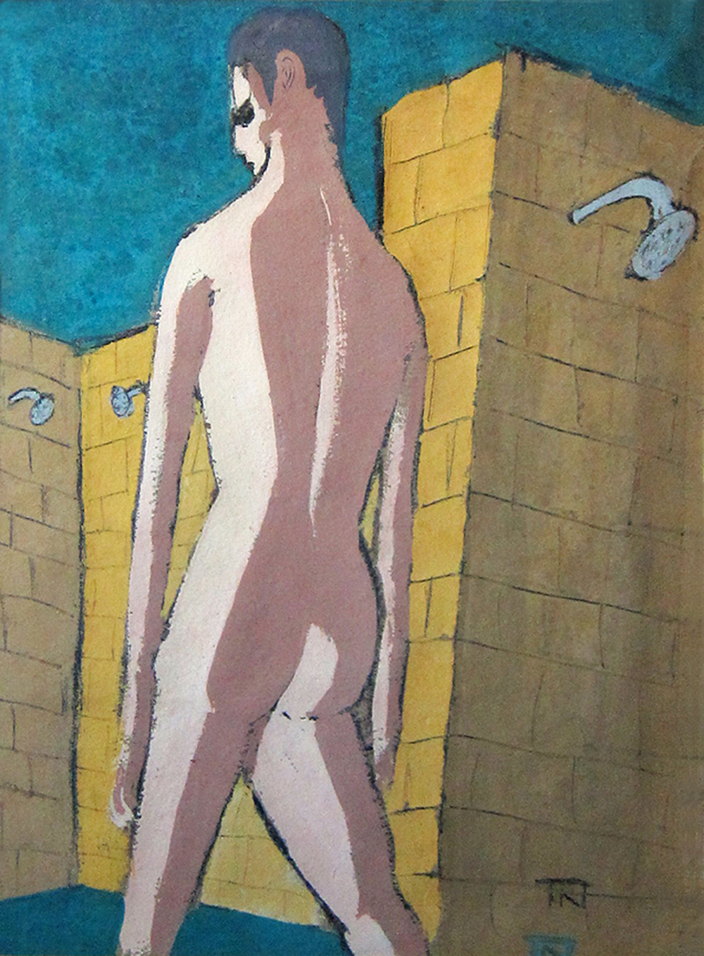 Theodore Newman, Shower Room, 1955