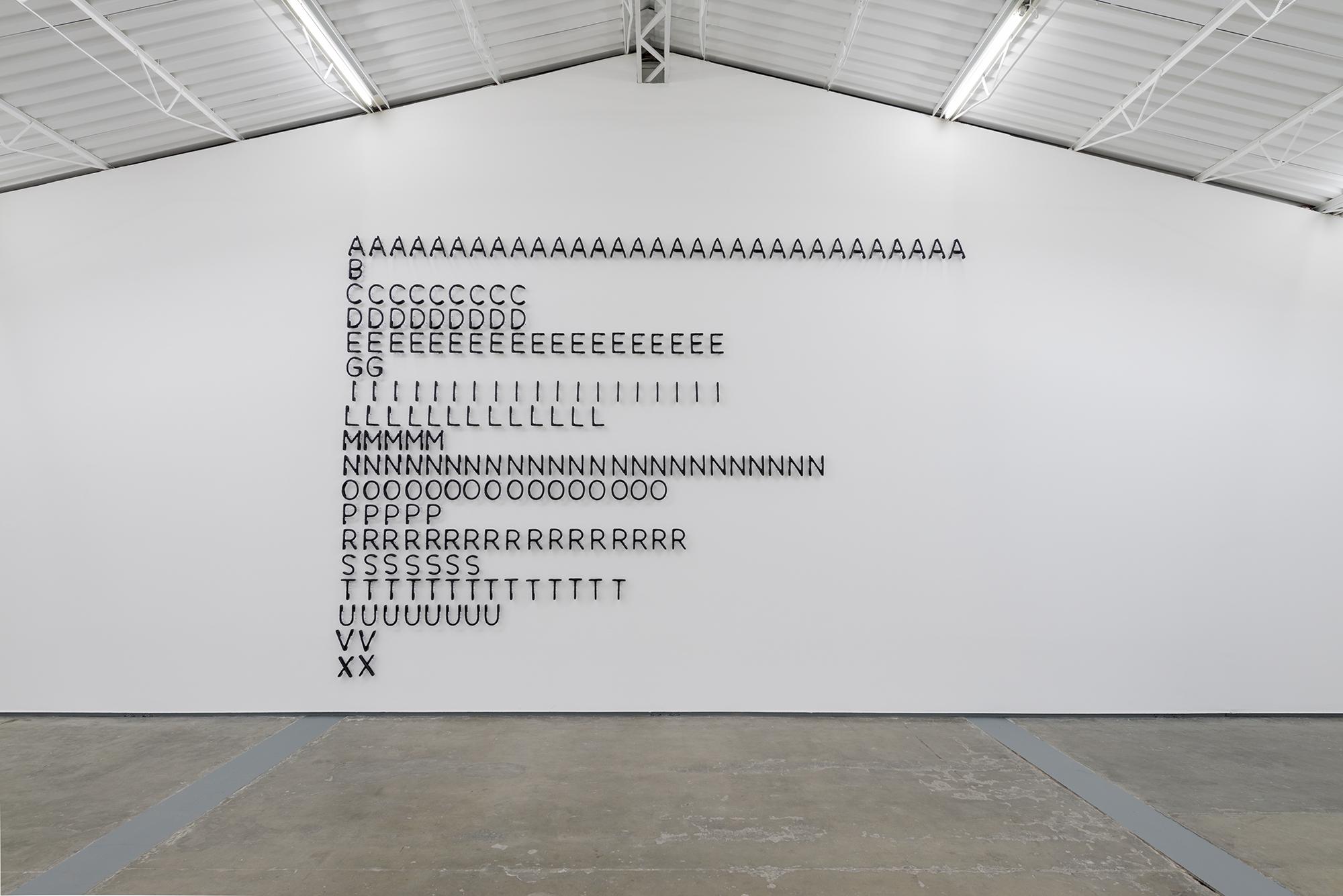 Gabriel de la Mora, Entropías, 2017, Proyectosmonclova, Mexico City
