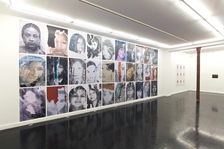 Installation view, Unfinished Portrait, More Charpentier, 2018