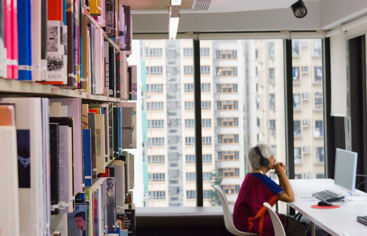 AAA Library. Photo: Kitmin Lee. Courtesy of Asia Art Archive.