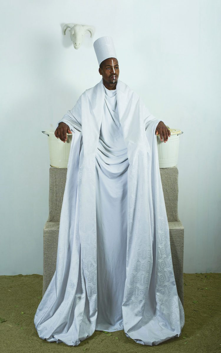 Maimouna Guerresi, Throne in White
