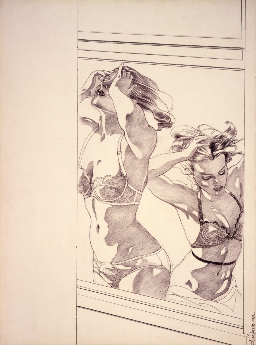Paloma Picasso British Vogue, 1972