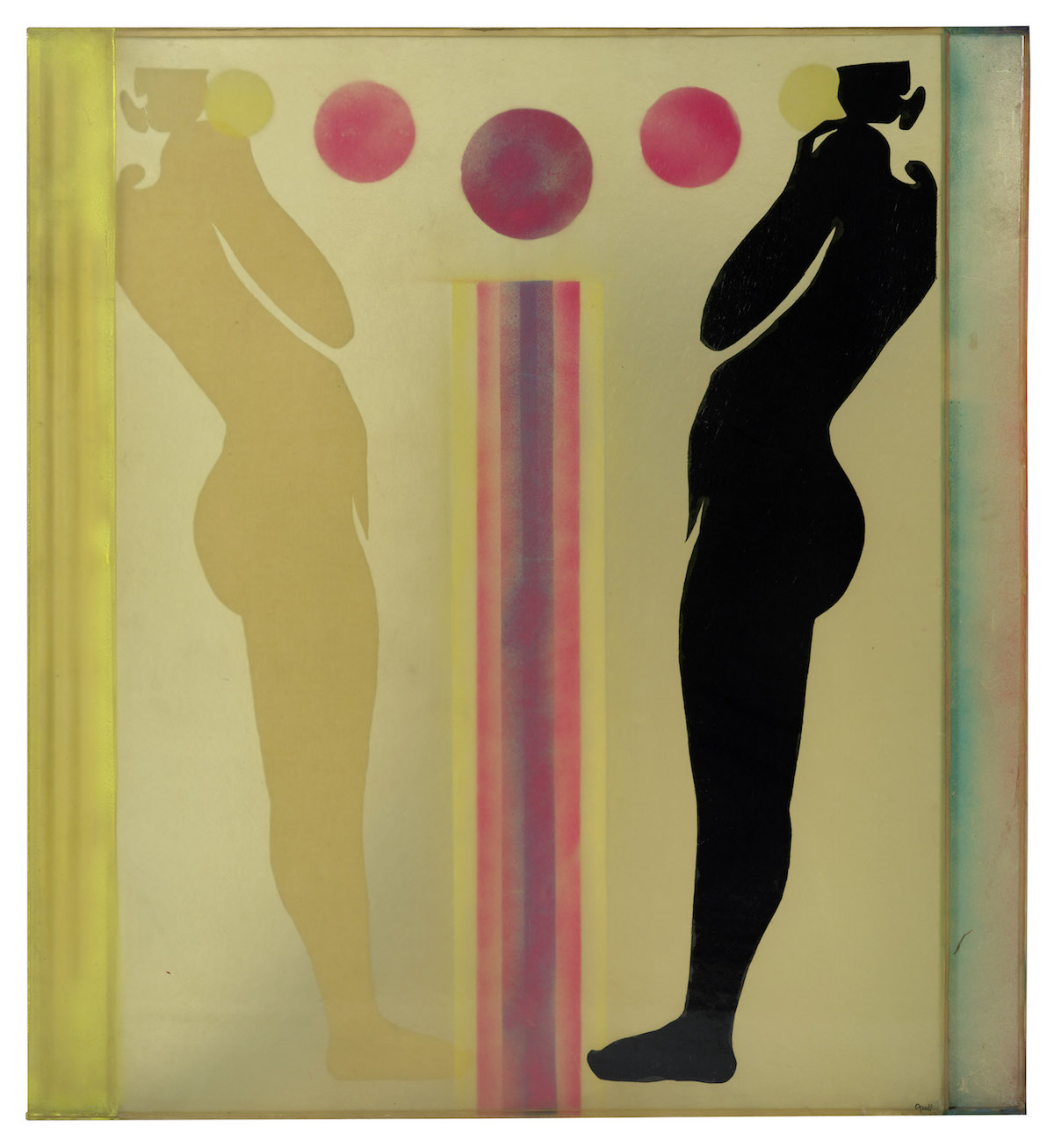 Evelyn Axell Konig Galerie Deux Femmes aux Bulles, 1967 Female Pop Artist