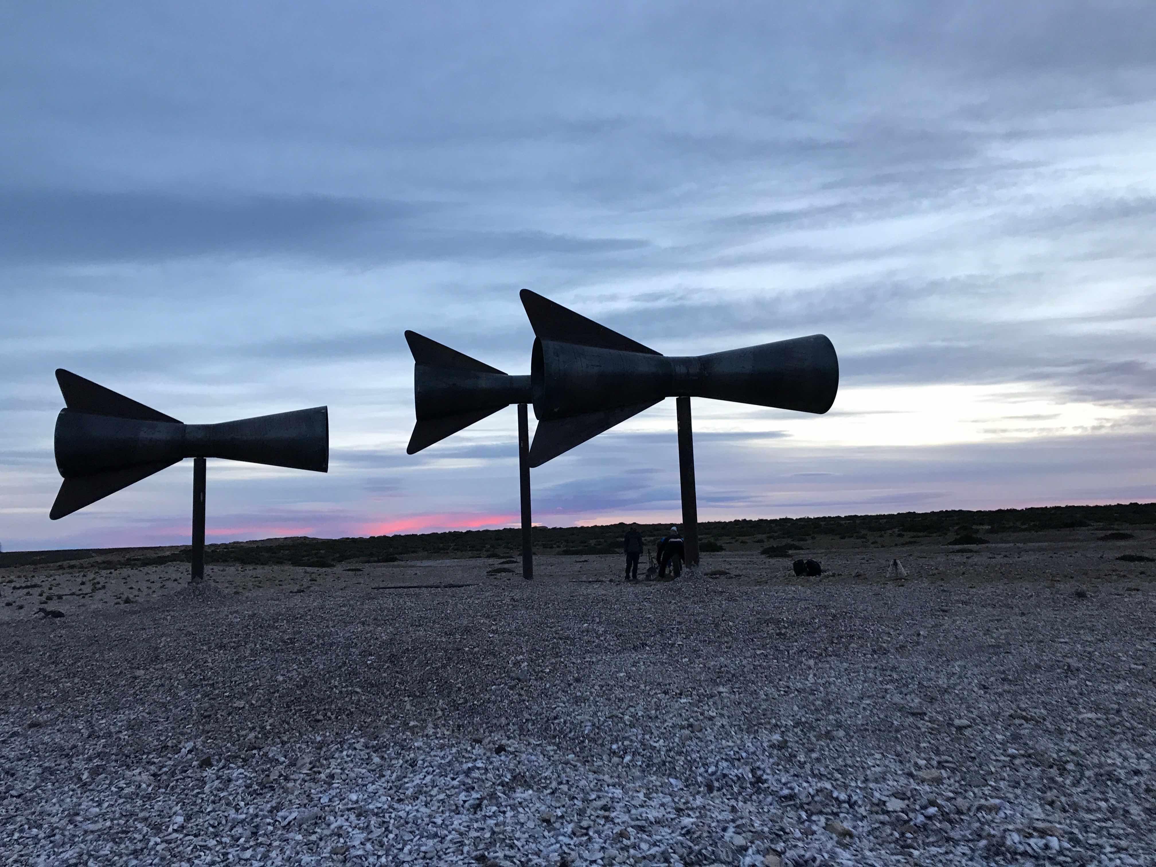 Misterios, 2017 Site-specific installation, Patagonia