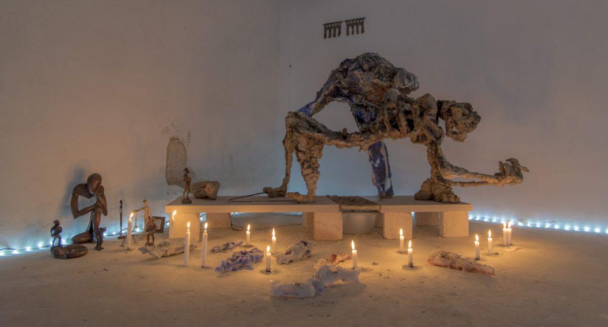 Sacra Conversazione, curated by Emmanuelle Luciani and Ch Cosson, with artwork by Giovanni Copelli photo James Ruffato