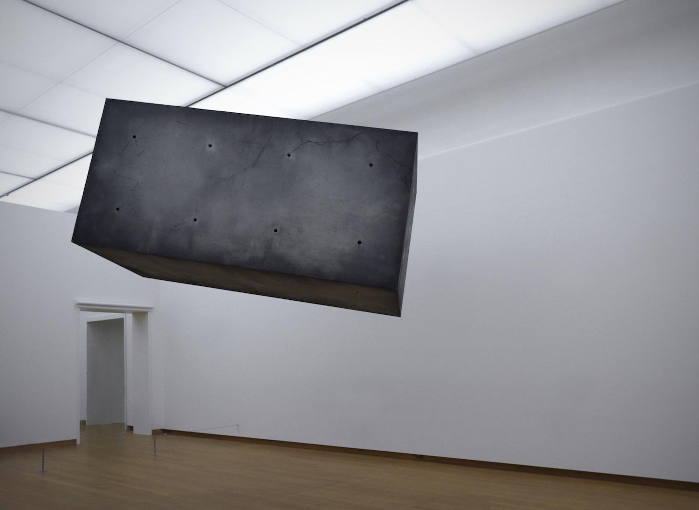 Installation view, Studio Drift: Coded Nature, 2018, Stedelijk Museum Amsterdam. Drifter, development 2008-2016, realization 2017. Courtesy Pace Gallery, New York