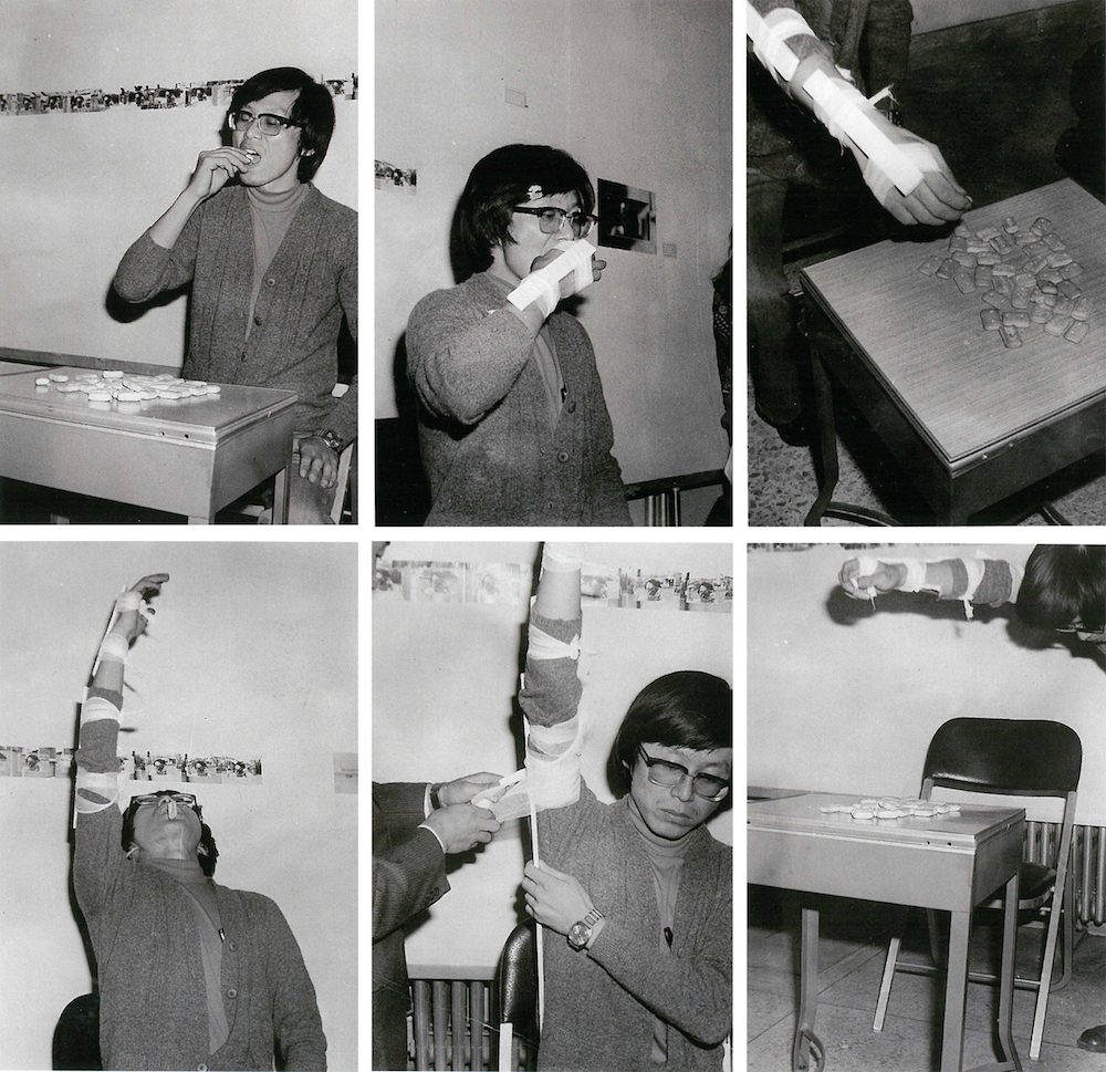 Lee Kun-Yong, Eating Biscuit, 1975 with Gallery Hyundai