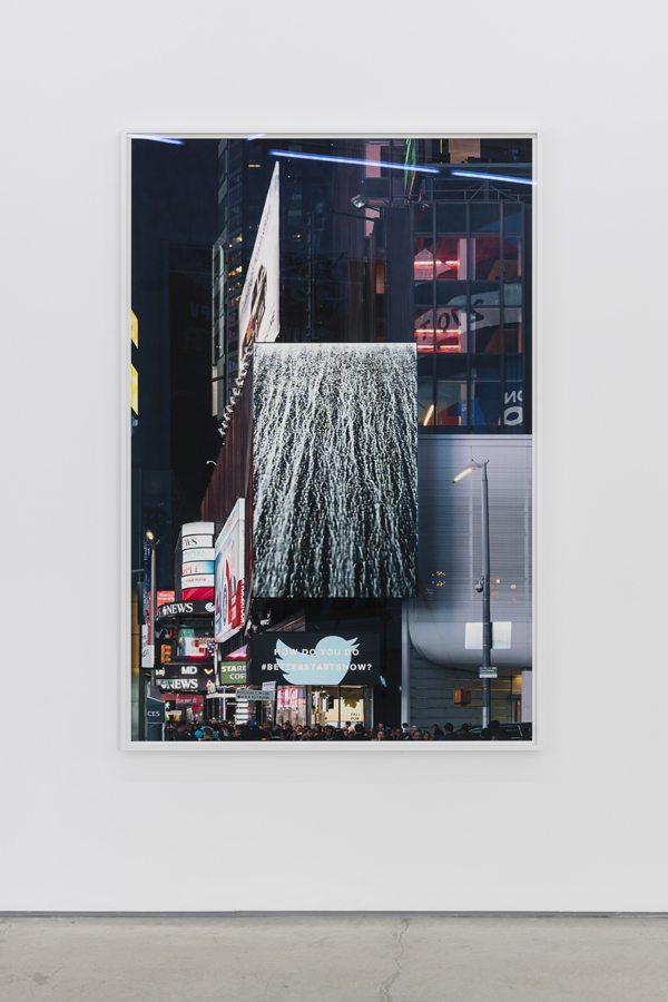 Moritz Wegwerth - BETTERSTARTSNOW, 2018 - Inkjet Print in frame - 164.5 x 111.5 x 4 cms (Framed)