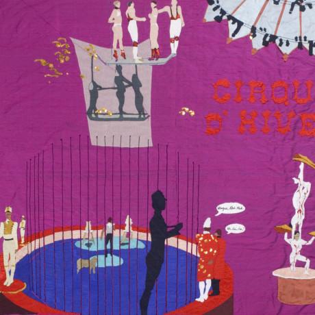 Billie Zangewa, Cirque d'hiver, 2007