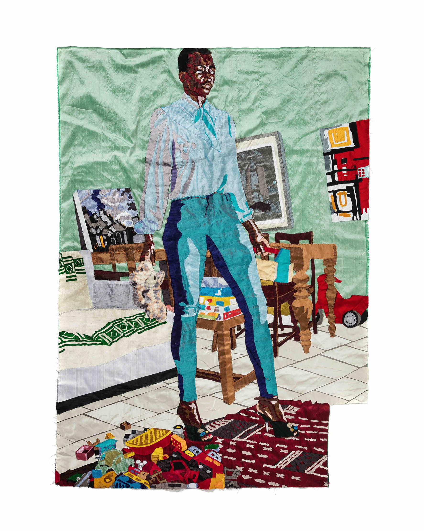 Billie Zangewa, Every Woman, 2017