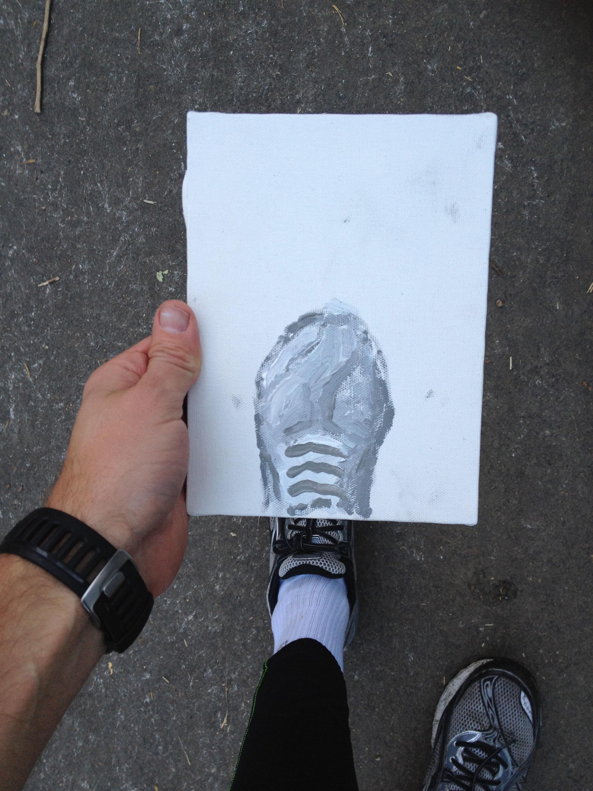 Christoph Neimann, Live-Illustrating the New York City Marathon, 2011