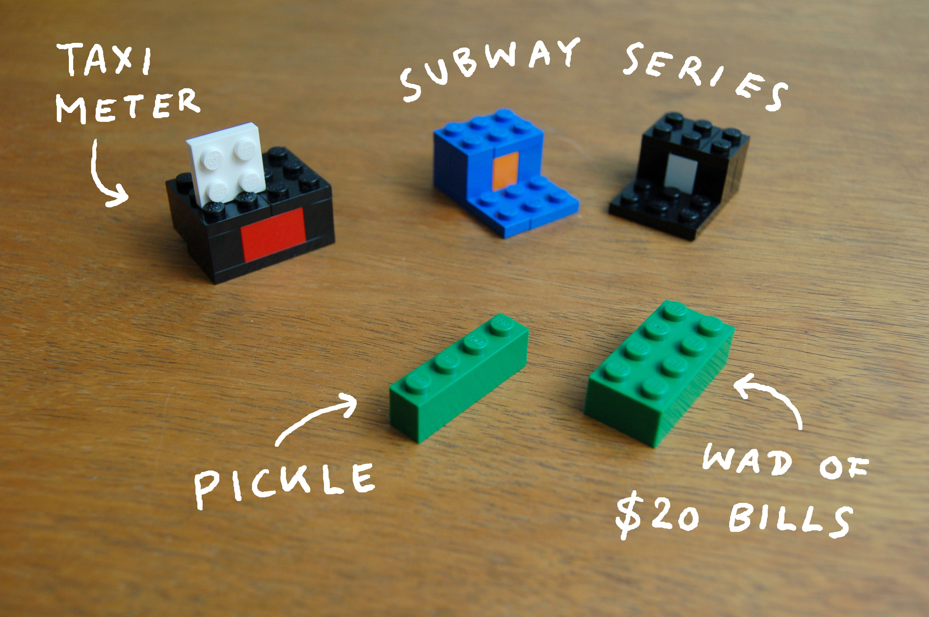 I Lego NY (Memories of New York) from the book Abstract City, 2010