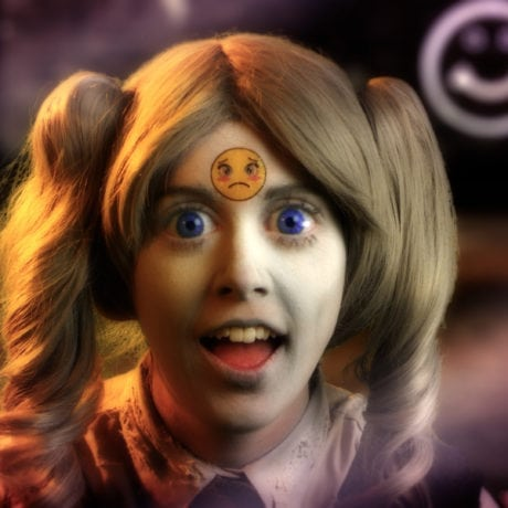 Rachel Maclean Feed Me (2015) Arts Council Collection, Southbank Centre, London © the artist. Commissioned by Film and Video Umbrella (FVU) and Hayward Touring for British Art Show 8