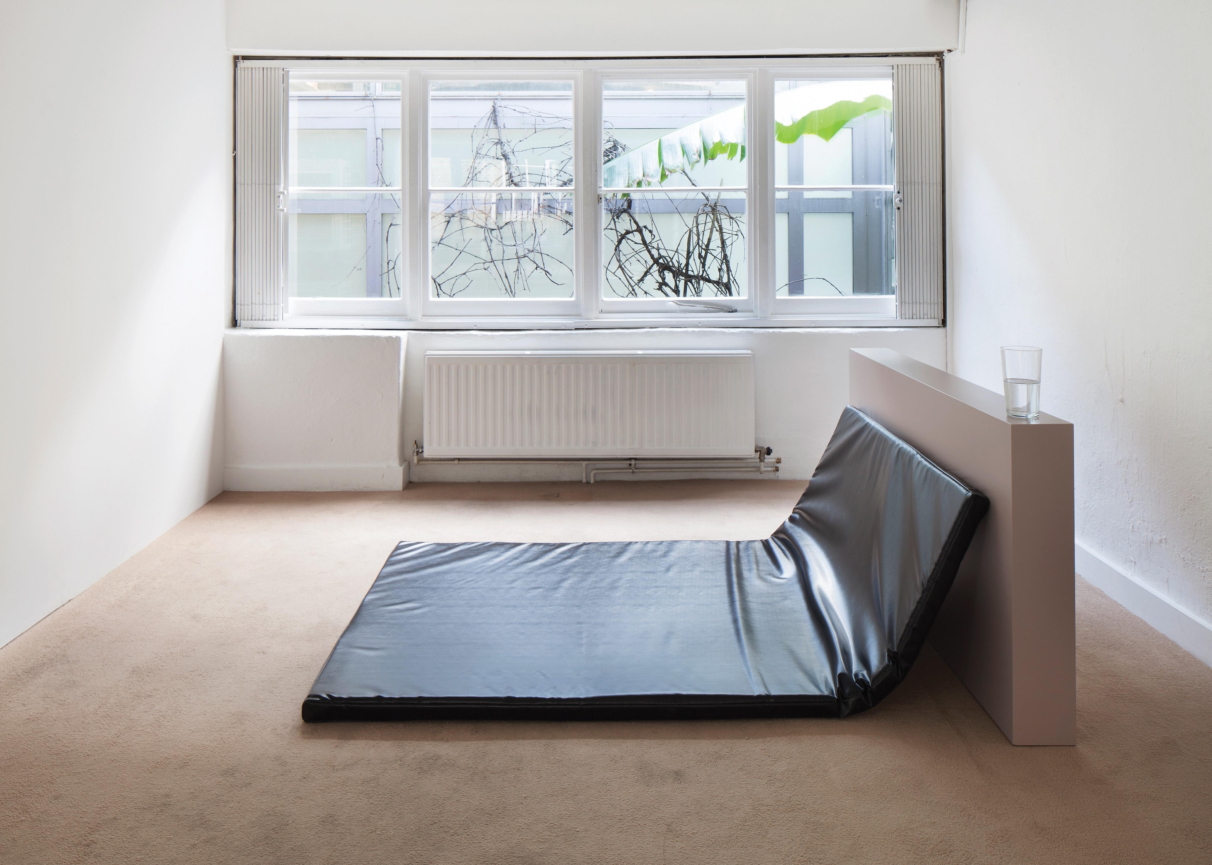 Player, 2013 Prem Sahib London artist minimalism club culture bed sculpture
