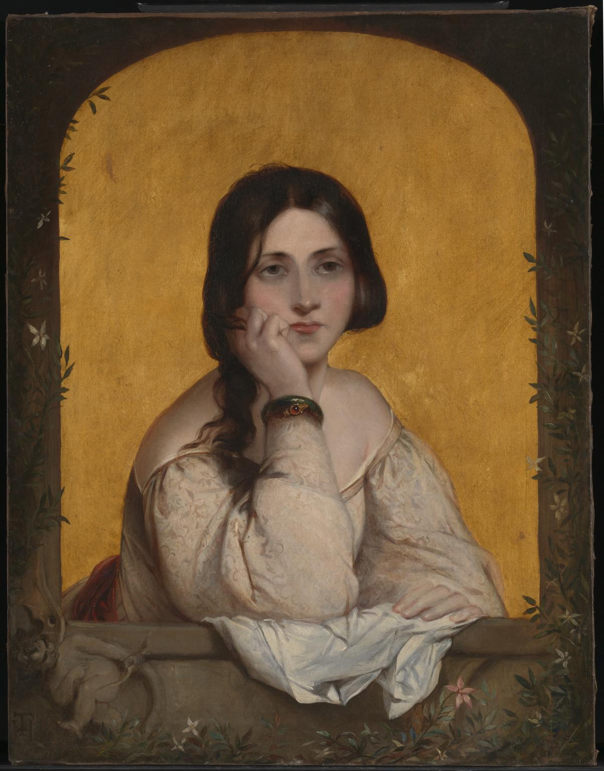 Theodor von Holst, The Bride, 1842. Presented by Tate Members 2015 © Tate