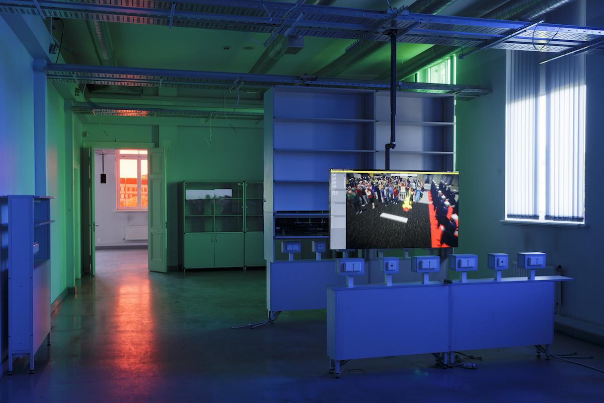 Clemens von Wedemeyer, Transformation Scenario, 2018. Courtesy of the artist, Galerie Jocelyn Wolff, Paris and KOW, Berlin