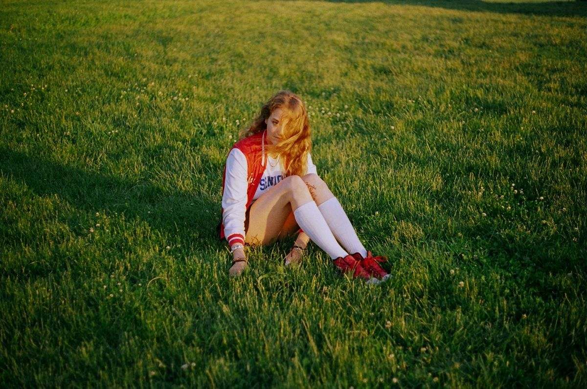 From The Teenage Gaze series, 2010-2015 Petra Collins photographer female field girl