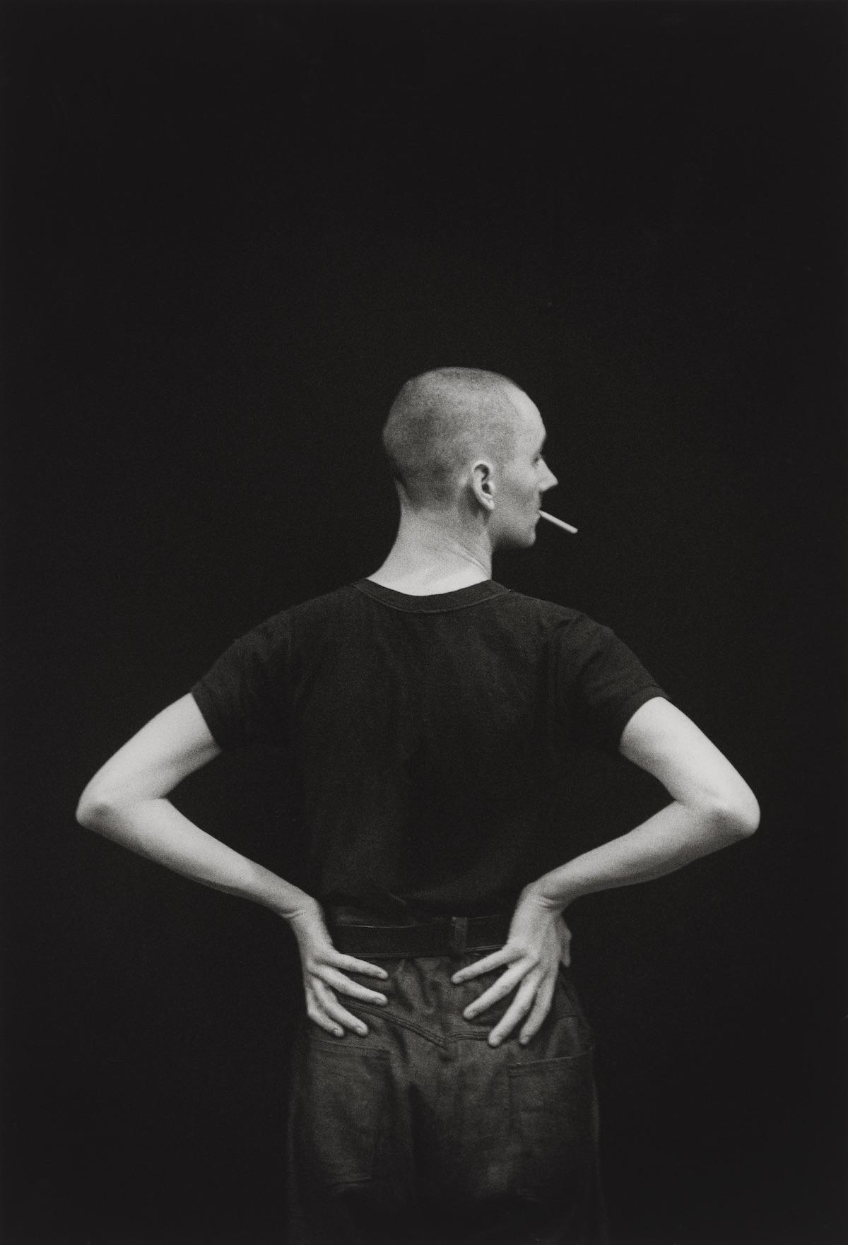 Cerith Wyn Evans, circa 1984 David Gwinnutt National Portrait Gallery Before We Were Men Gay Queer London