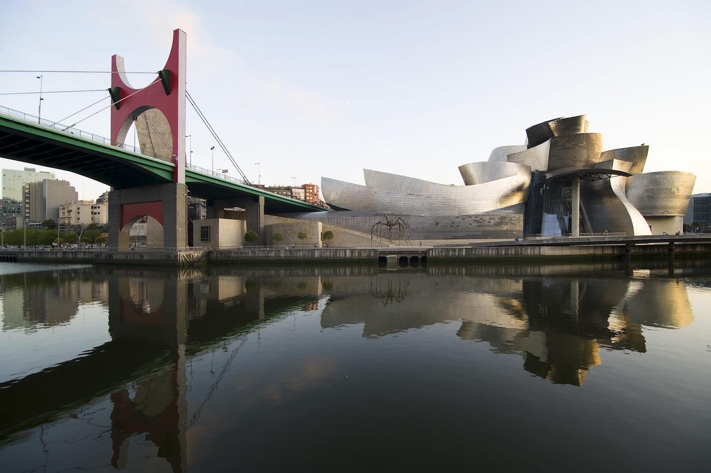 Exterior of Guggenheim Bilbao
