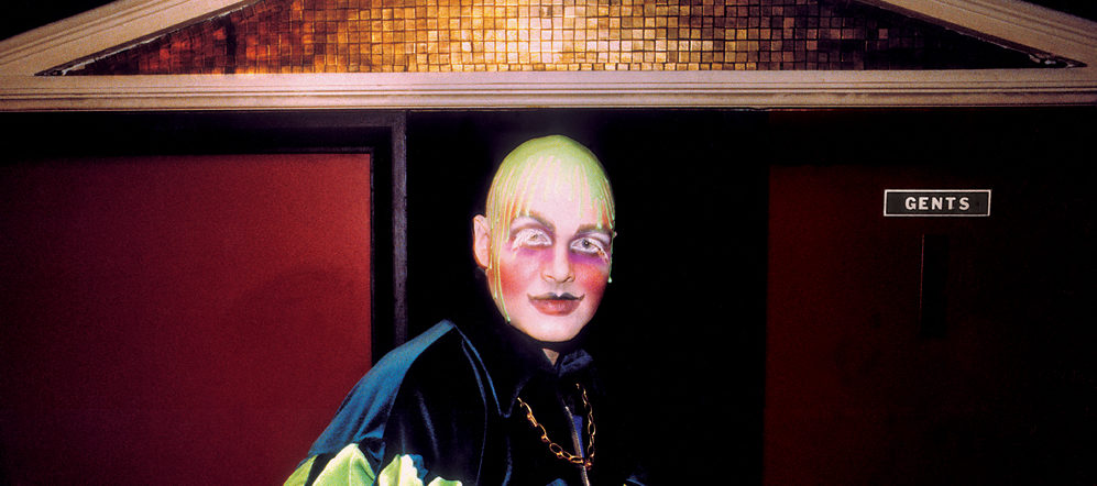 Leigh Bowery, Taboo by Dave Swindells, 1986.