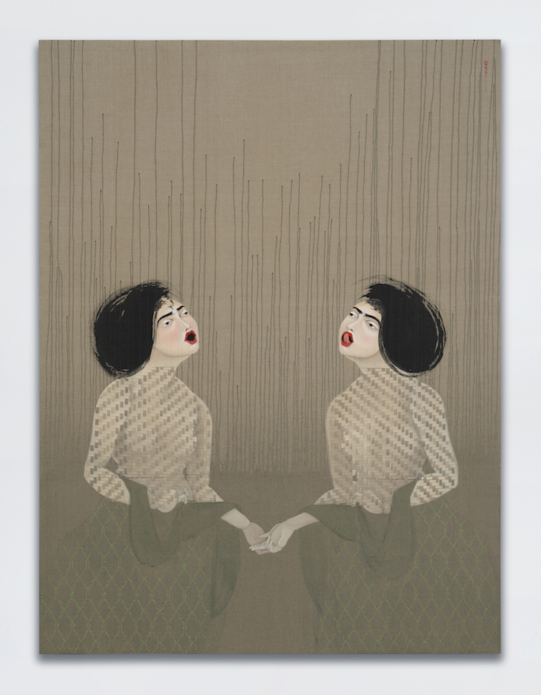 Hayv Kahraman, T25 and T26, 2017