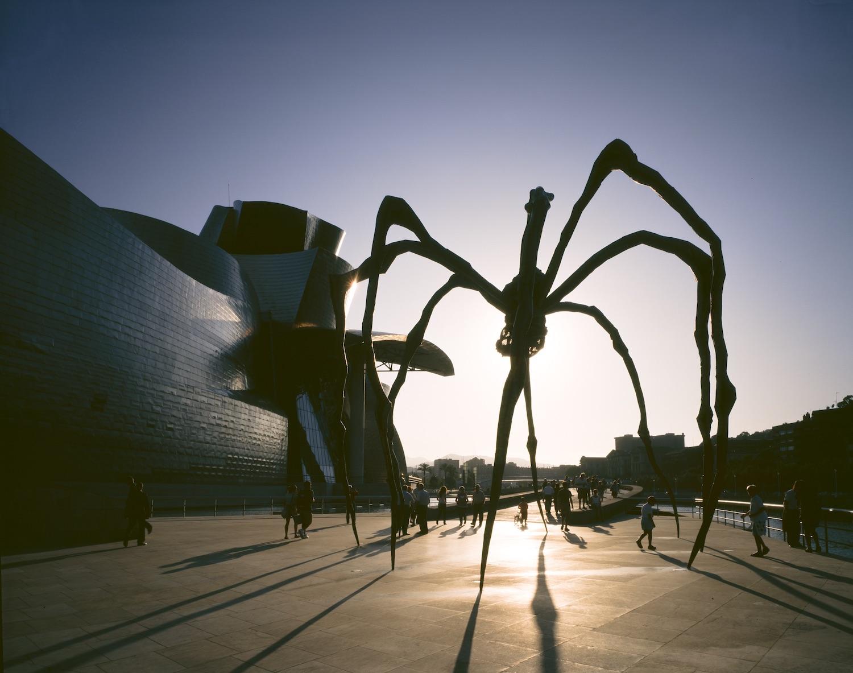 Louise Bourgeois, Maman, 1999, courtesy Guggenheim Bilbao