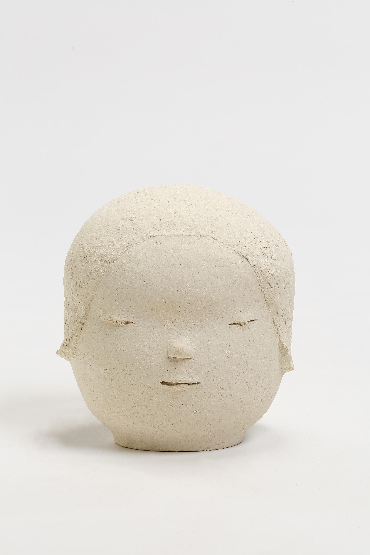 Yoshitomo Nara Head 1, 2018 © Yoshitomo Nara