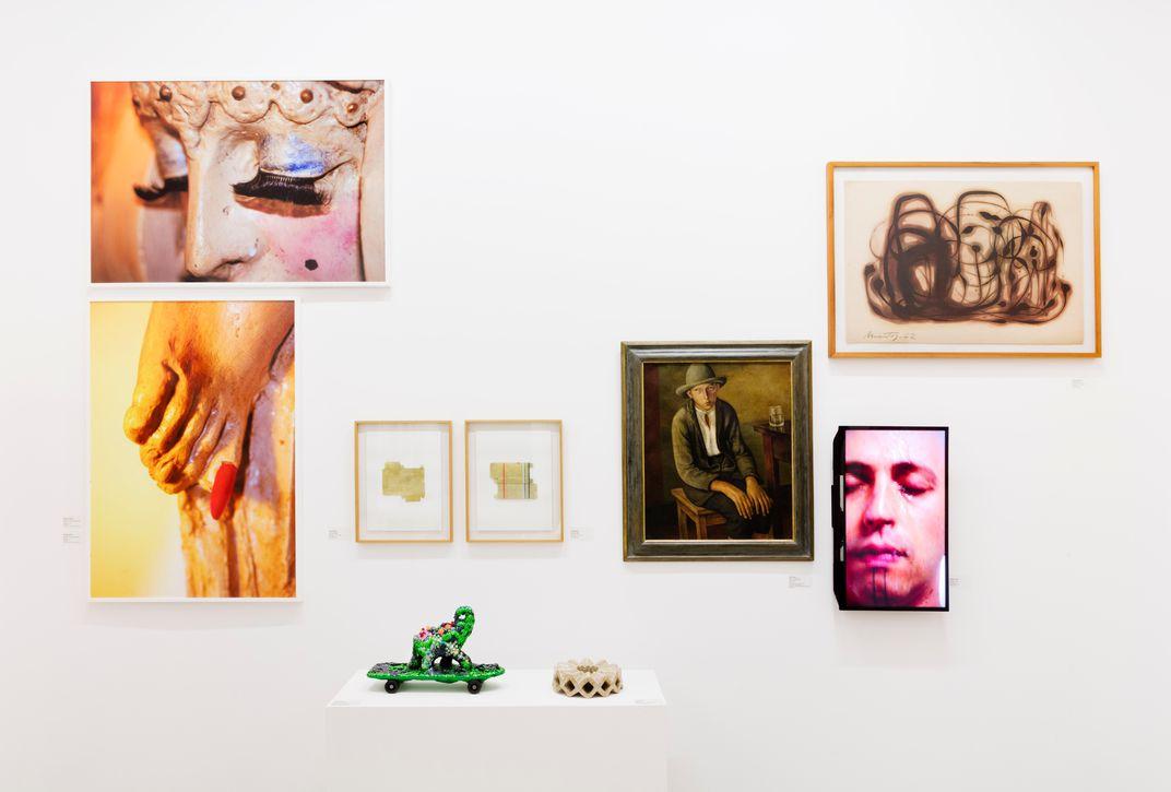 Queermuseu at School of Visual Arts, 2018, installation view. Photo by Gabi Carrera