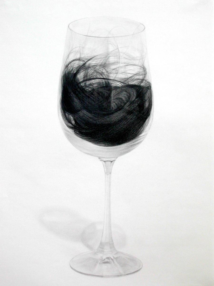 6. Napa California, 18in x 24in, graphite on paper, 2004