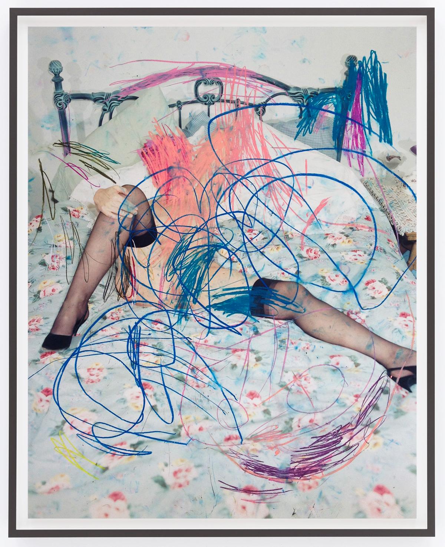 Leigh Ledare, Children's Drawing (Clementine), 2014