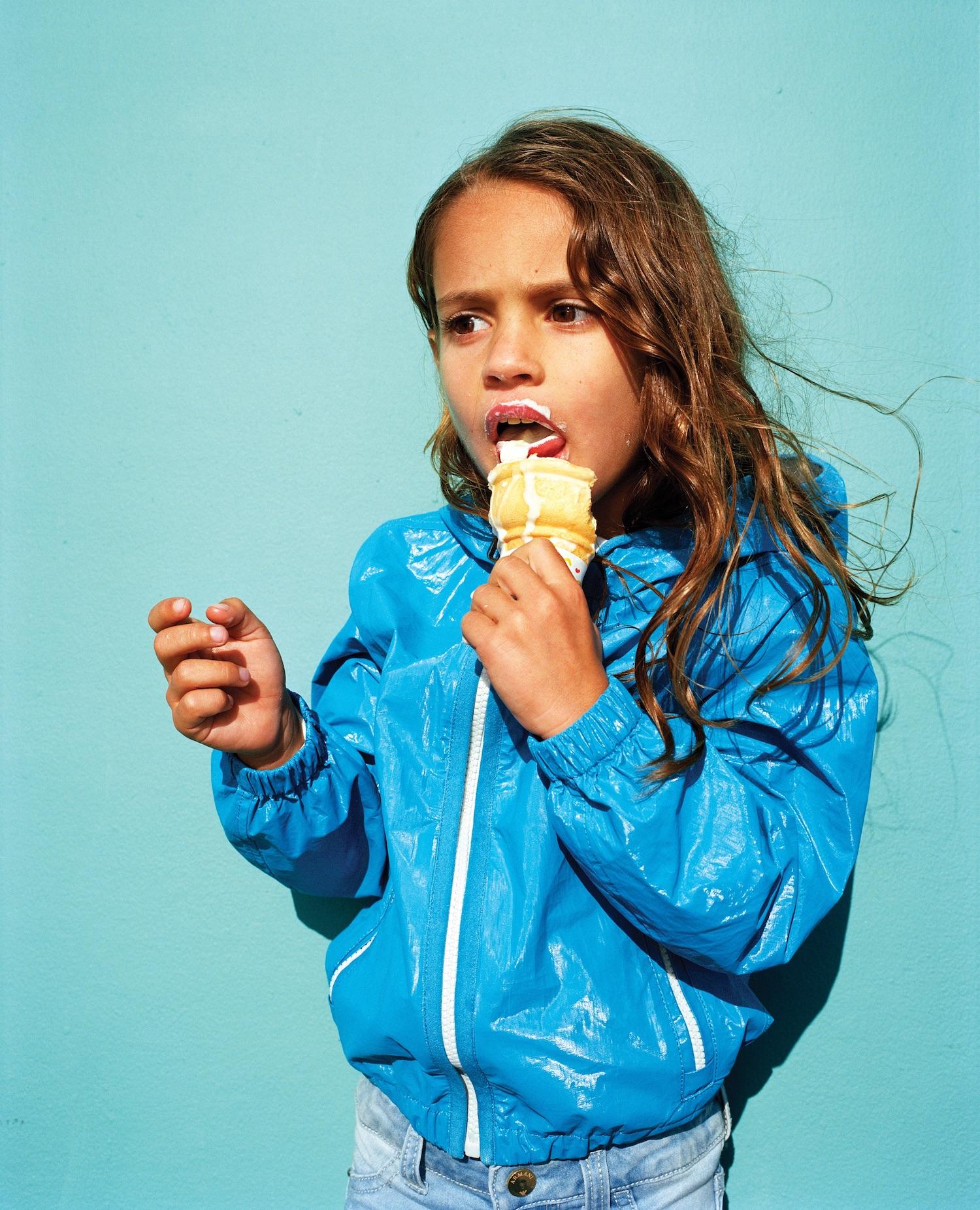 Ed Templeton, Evan Cassidy Eats Ice Cream, 2017