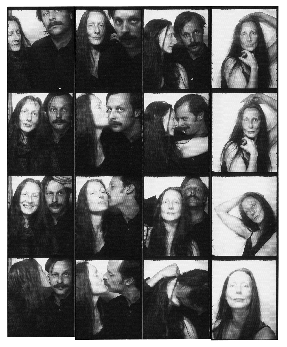 Leigh Ledare, Mom and Me in Photobooth, 2008