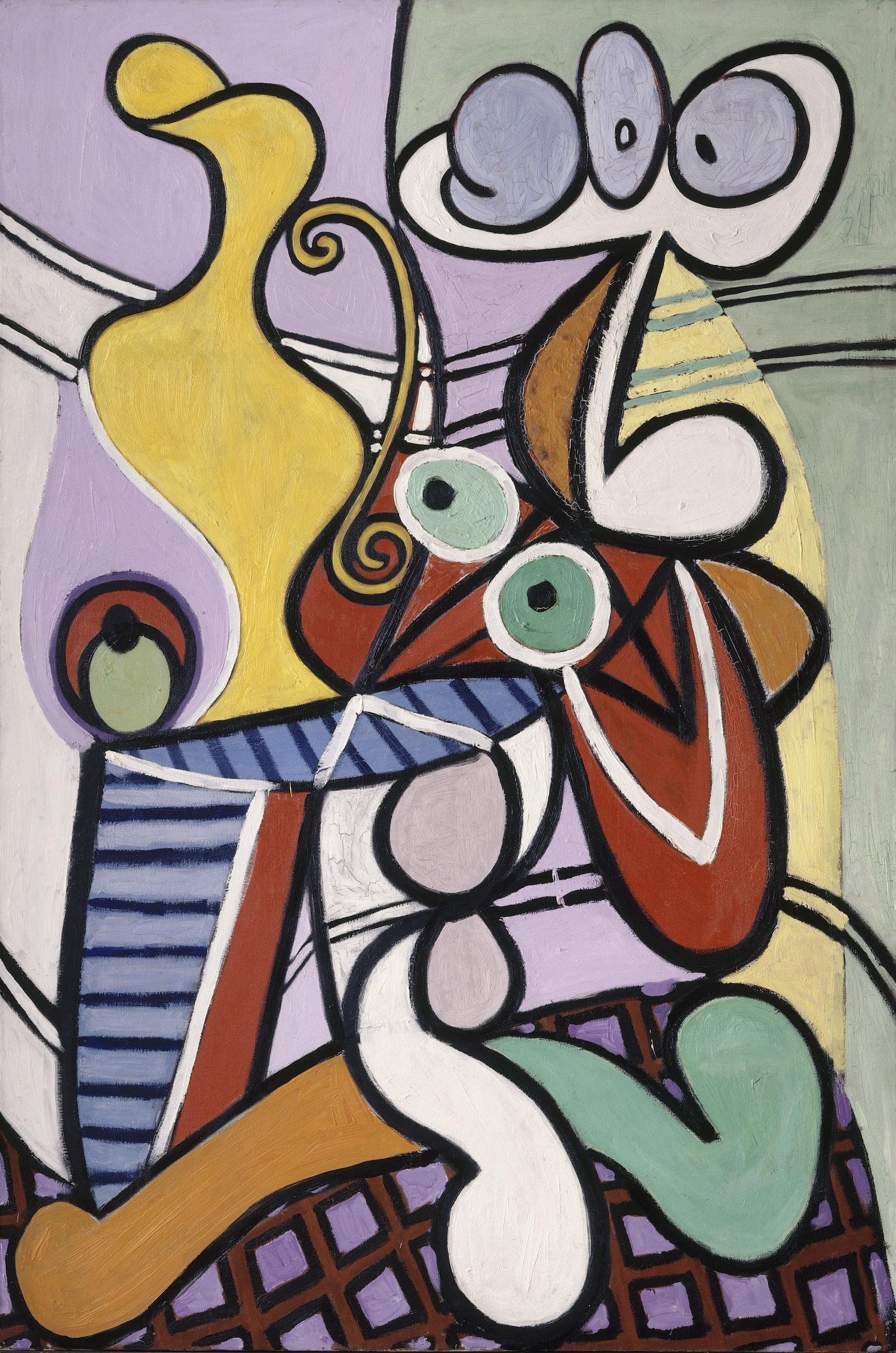 Pablo Picasso, Large Still Life with Pedestal Table, 1931, Musée Picasso, Paris, France.