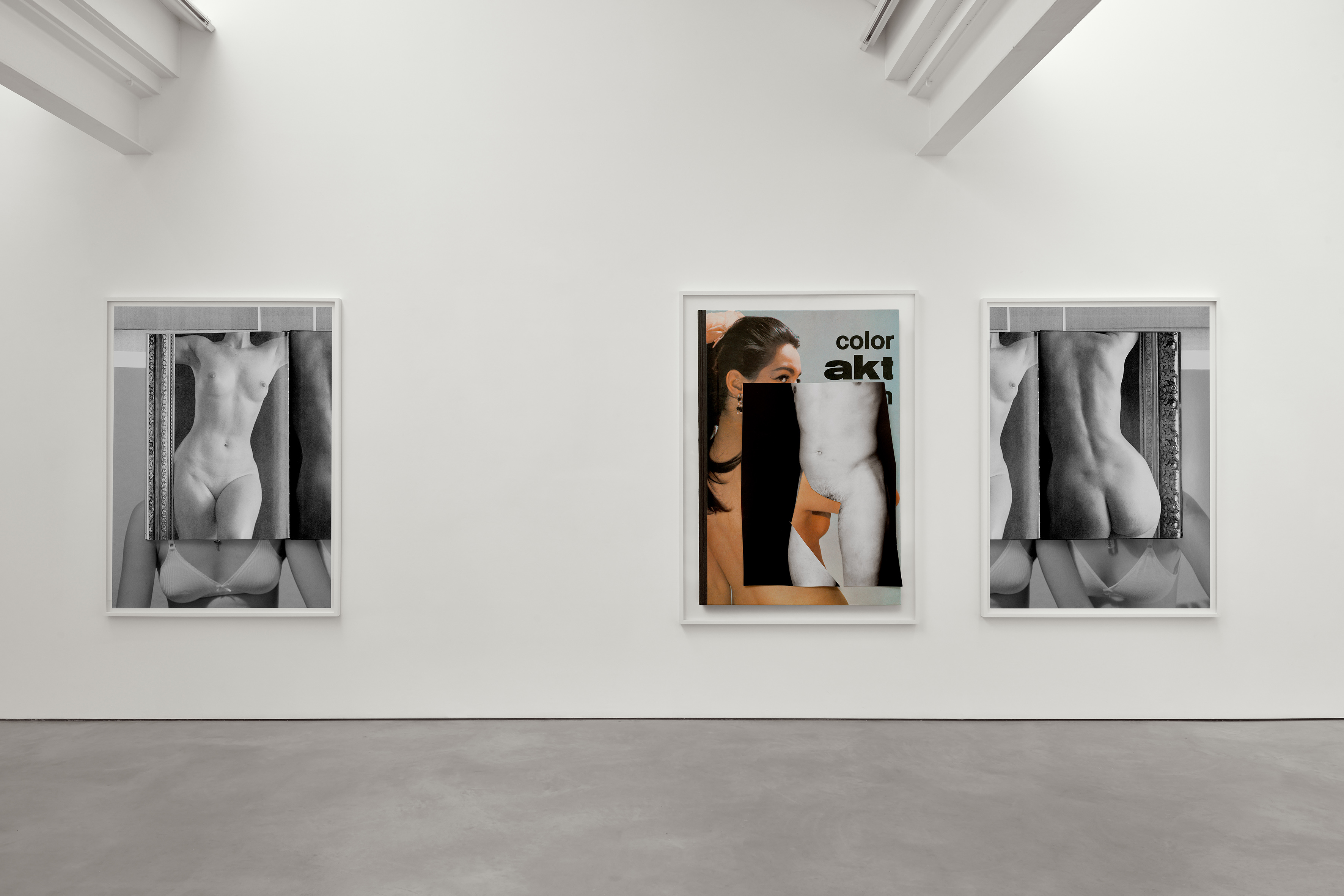 In Front of the Camera, Installation view, Stuart Shave/Modern Art London. © Collier Schorr. Photo Robert Glowacki. Courtesy Stuart Shave/Modern Art, London