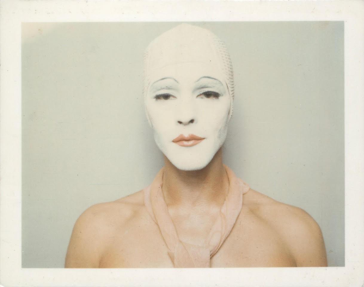 Ulay, Renais sense (White Mask), 1974/2014. Private collection, London