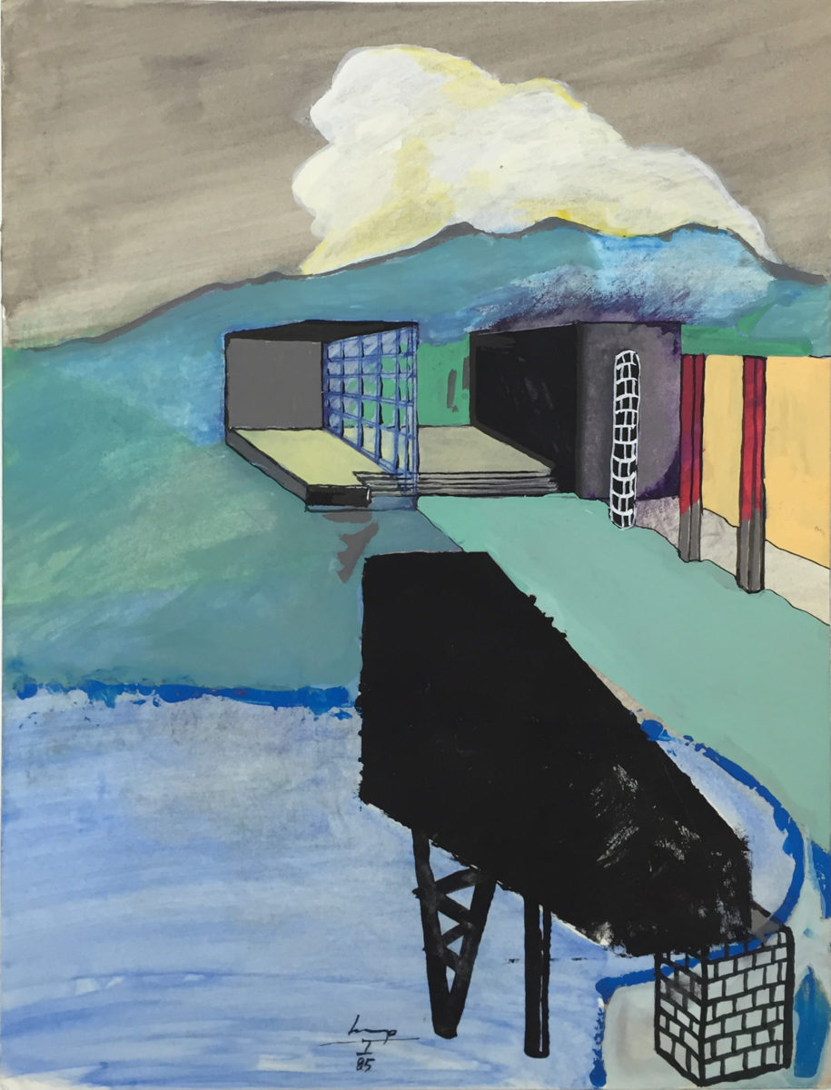 Betts Project, Lars Lerup, 1234 House 5, 1985