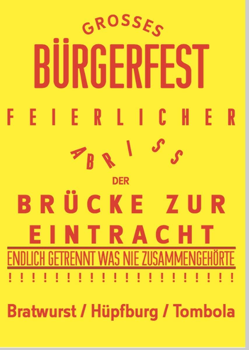 Wilhelm Klotzek Grosses Bürgerfest, 2018 . Courtesy: Klosterfelde Edition and Wilhelm Klotzek