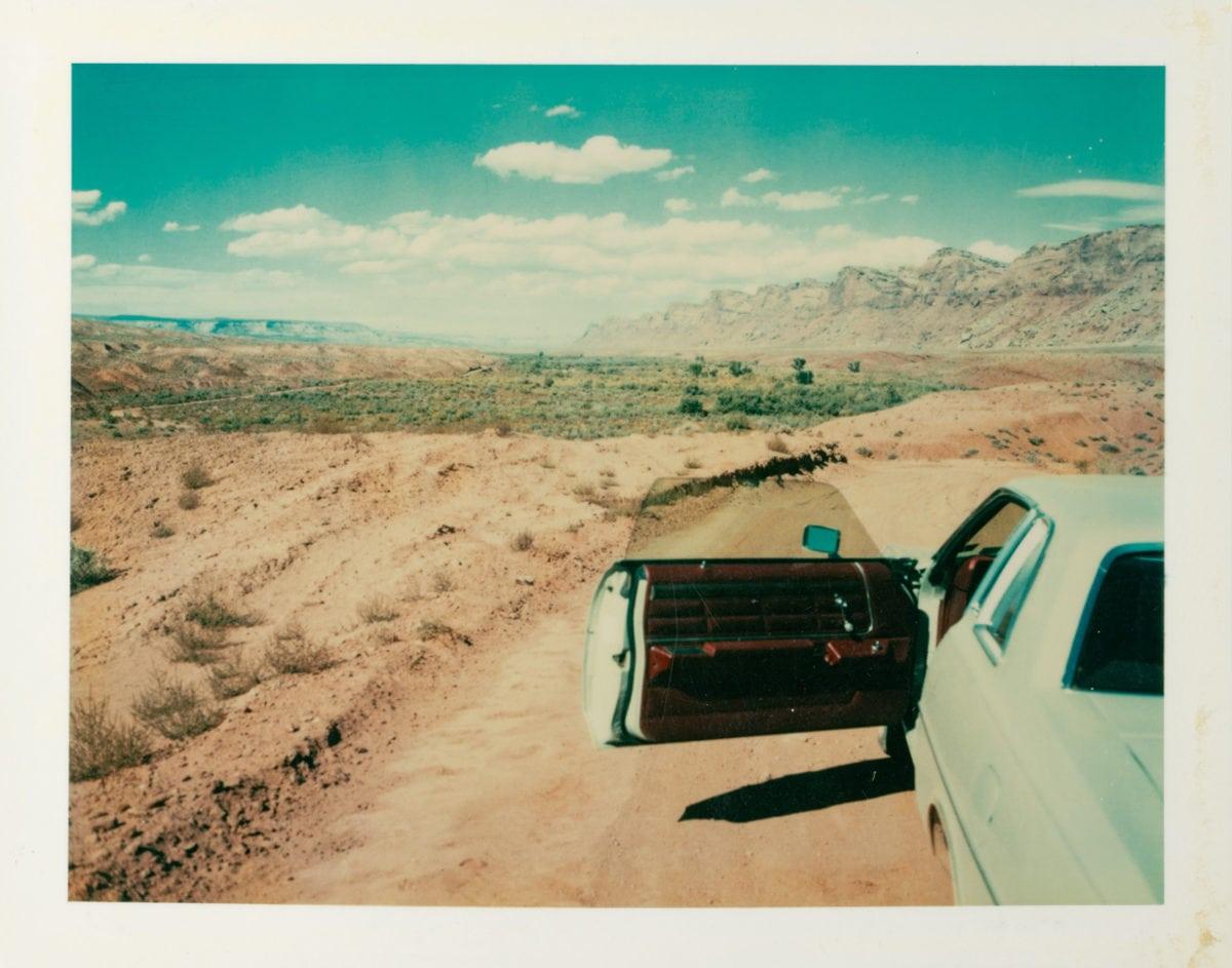 Valley of the Gods, Utah, 1977. © Wim Wenders, Courtesy of Deutsches Filminstitut, Frankfurt