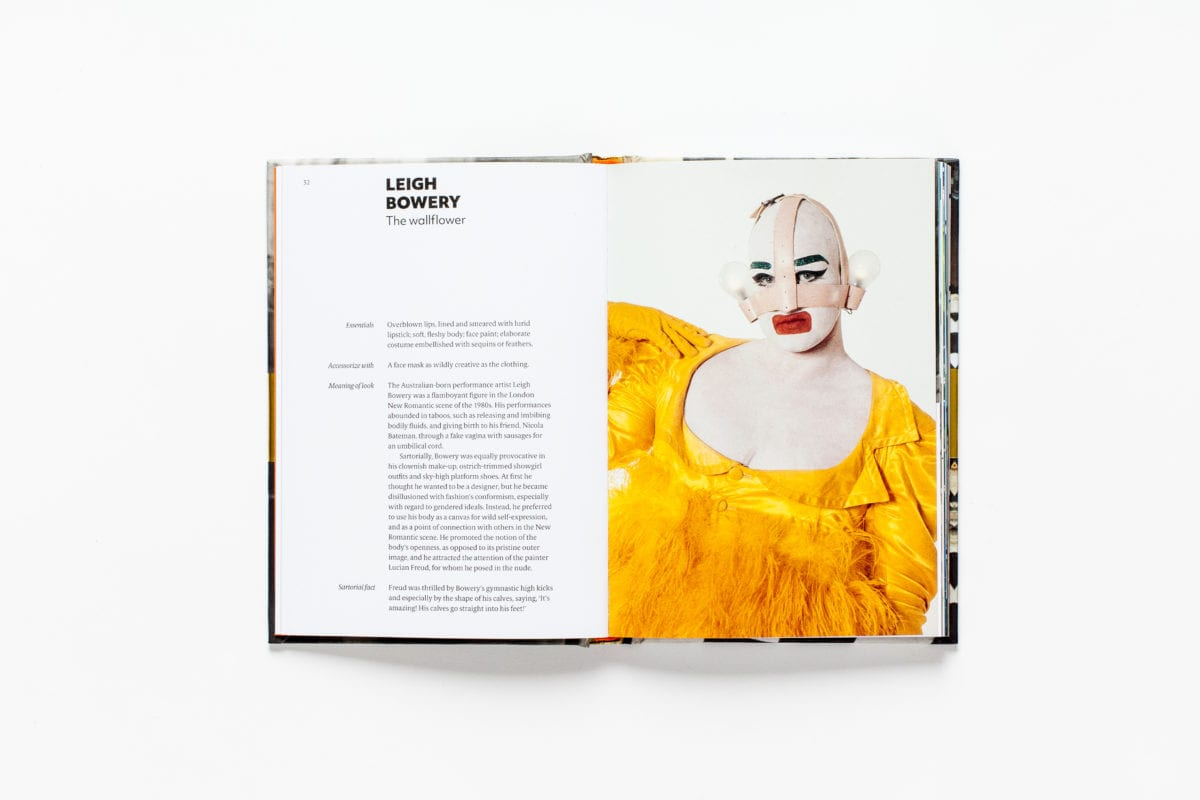 Leigh Bowery, from Sartorial: The Art of Looking Like an Artist, by Katerina Pantelides, published by Laurence King