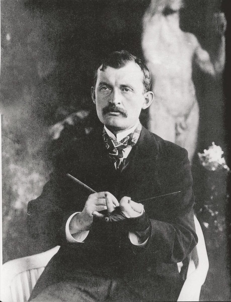 Edvard Munch, Norwegian artist.