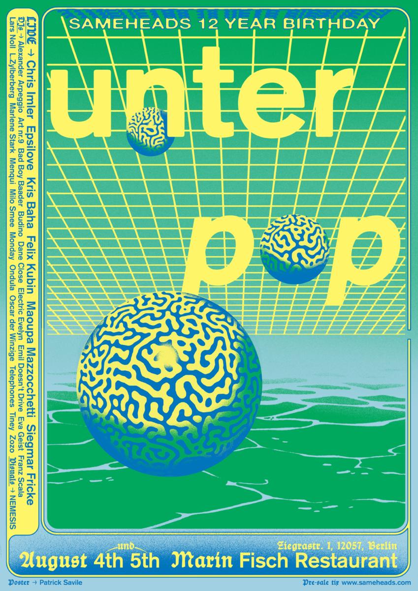 Patrick Savile, Unter Pop poster