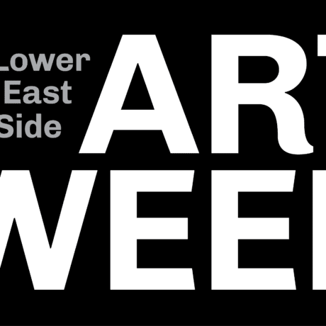 Lower East Side Art Week logo