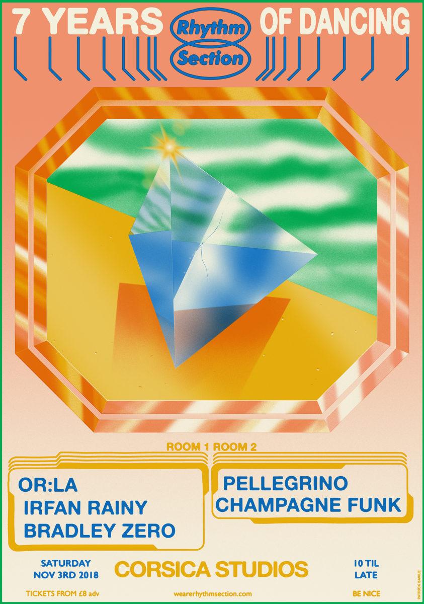 Patrick Savile, Rhythm Section Poster